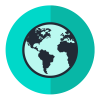Geographical Data Icon